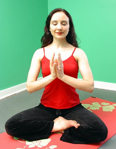 Maria Meditating